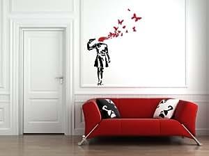 Suicide Butterflies - Wall Vinyl Decal