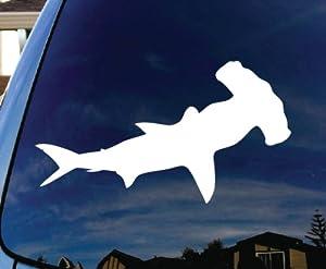 Amazon Com Hammerhead Shark Car Window Vinyl Decal