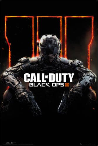 Poster Call of Duty Black Ops 3 - manifesto risparmio, cartellone XXL