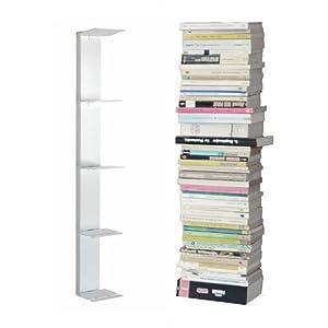 radius booksbaum wandregal weiss 2 klein k che. Black Bedroom Furniture Sets. Home Design Ideas