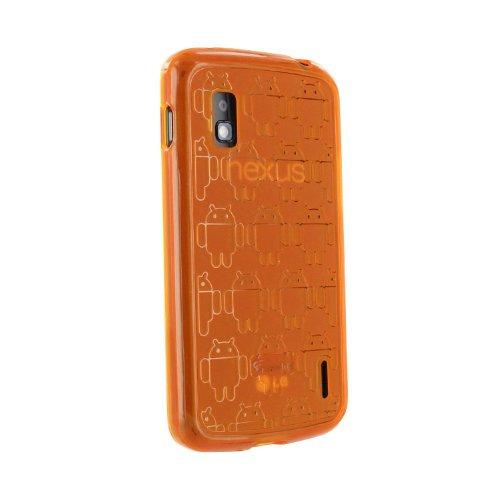 41Hzr2DojJL ^ Orange Cruzerlite Clone Army TPU Case for LG Nexus 4 (T Mobile, International Carriers) Big Sale