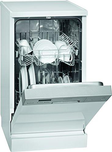 Bomann GSP 844 Unterbaugeschirrspüler / A++ / 197 kWh/Jahr / 9 MGD / 2520 Liter/Jahr / Edelstahl-Bedienblende mit LED-Display / Elektronisches Zulaufschlauch-Sicherheitssystem / weiß