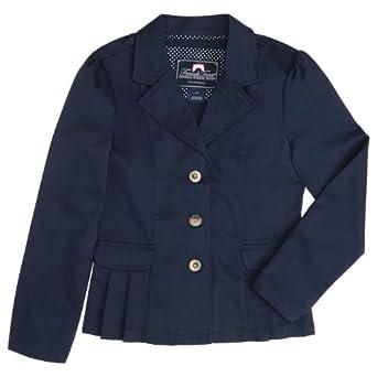 French Toast School Uniforms Girls Twill Blazer Girls navy 16