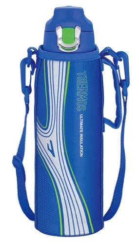 THERMOS 真空断熱スポーツボトル 1.0L ブルー FFF-1000F BL