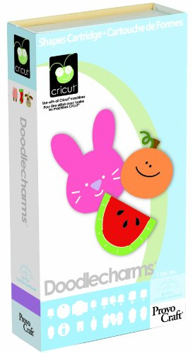 Cricut Doodlecharm Cartridge, 50 Assorted Designs