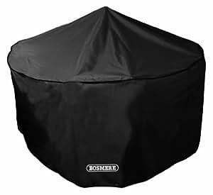 Bosmere Storm Black 4-6 Seat Circular Patio Set Cover