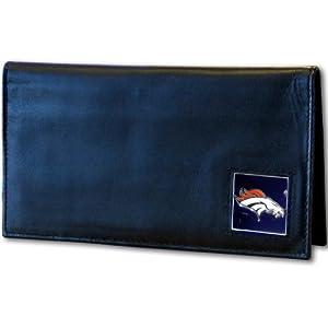 NFL Denver Broncos Leather Checkbook Cover