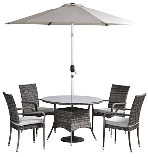Pagoda Garden Furniture Best deal pagoda toulouse dining set and parasol 4 seat best pagoda toulouse dining set and parasol 4 seat workwithnaturefo