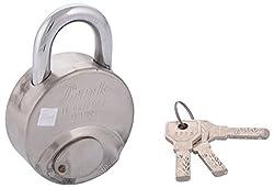 LINK LOCKS Brass Padlock R-67 (Silver)