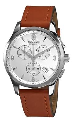 Victorinox Swiss Army Men's 241480 Alliance Silver Chronograph Dial Watch by Victorinox Swiss Army