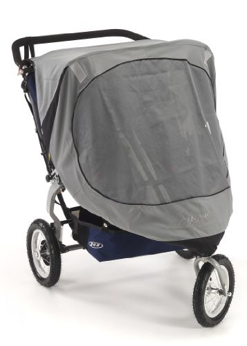 Bob Sun Shield for Duallie Revolution/Stroller Strides Models, Gray