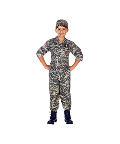 Us Army Boys Costume - Large
