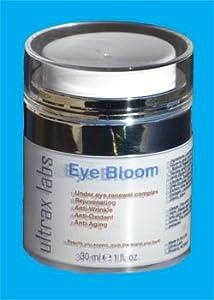 Ultrax Labs Eye Bloom Under Eye Cream for Dark Circles and Wrinkle Repair