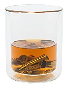 Bullet Shaped Whiskey Stones Stainless Steel Gift Set With 6 Stones Rocks Cubes for Chilling Vodka, Whiskey & Scotch Plus Stainless Steel Tongs & Storage Bag - Chills Without Diluting Drinks