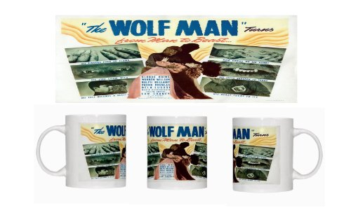 The Wolf Man - Claude Rains - Lon Chaney - Bela Lugosi - Mug B