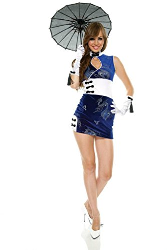 Forplay Womens China Doll Outfit Fancy Dress Sexy Costume