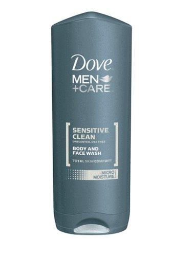 Dove Men + Care Body and Face Wash, Sensitive