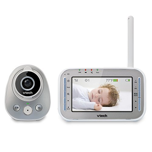 vtech-vm342-safe-sound-expandable-digital-video-baby-monitor-with-1-camera-standard-lens-and-wide-an