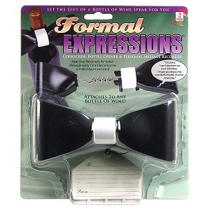 Formal Expressions Wine Gift Accessory w/Corkscrew Bottle Opener & Personal Message Recorder