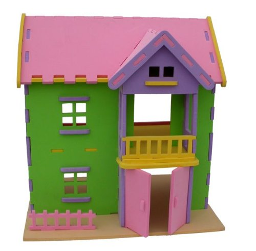 3D Dollhouse Foam Educational Puzzle