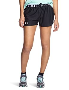 Under Armour Women's UA Play Up Shorts Extra Small Black