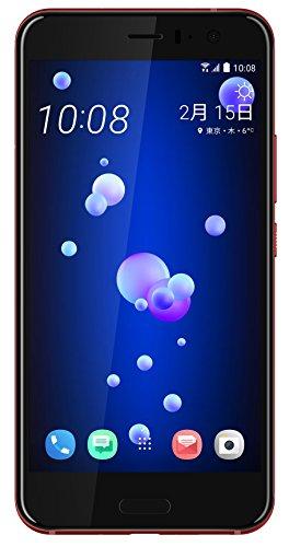 Htc 5.5インチ U11 Simフリースマートフォン ソーラーレッド【日本正規代理店品】 U11-red