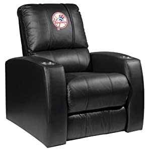 Home Theater Recliner with New York Yankees Secondary by XZIPIT