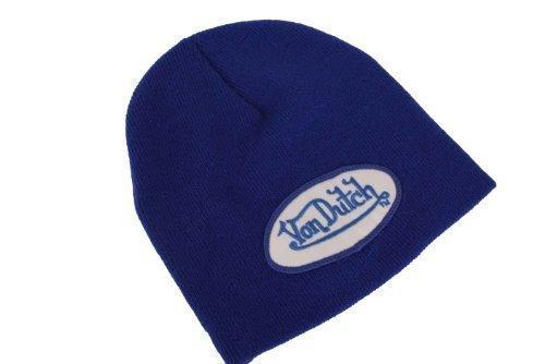 von-dutch-bonnet-chapeau-tricote-bleu-taille-uniforme