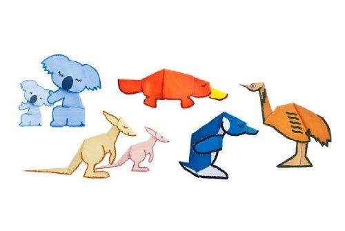 Choki Ori Snip & Fold Papercraft - Aussie Friends - 1
