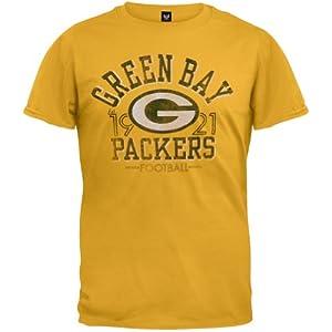 Green Bay Packers - Logo Fadeaway Premium T-Shirt