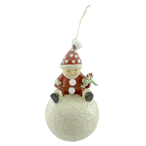 Holiday Ornament WINTER PLAY ORNAMENT ME0270 Christmas Bethany Lowe New