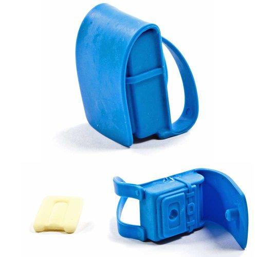 Iwako Puzzle Radiergummi zum Sammeln Schulrucksack Schulranzen blau