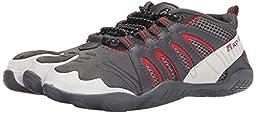 Body Glove Men\'s 3T Warrior Water Sport Shoe, Grey/Red, 11 M US