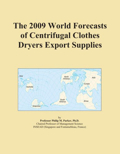 The 2009 World Forecasts Of Centrifugal Clothes Dryers Export Supplies front-375755