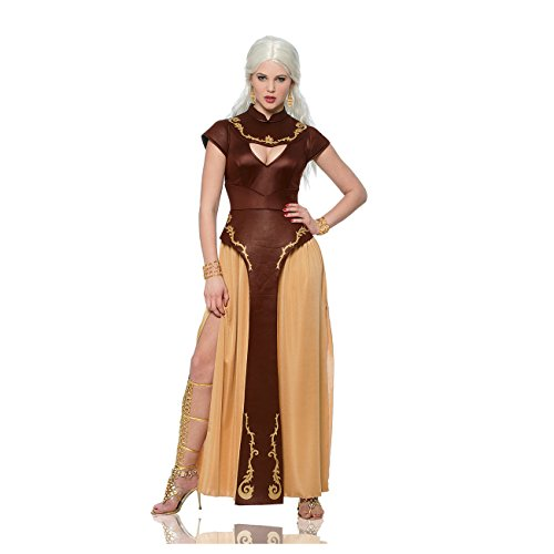 Daenerys Targaryen Khalessi Womens Costume Game Of Thrones Queen Sexy Adult New