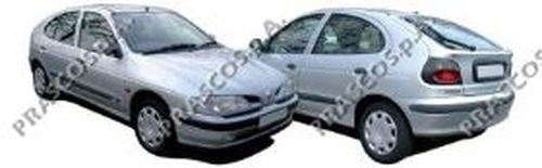 Fensterheber hinten, links Renault, Megane I, Megane I Classic, Megane I Gran...