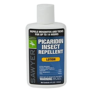 Sawyer Products Premium Insect Repellent with 20% Picaridin, Lotion, 4-Ounce