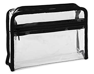 Amazon.com: Clear Cosmetic Bag: Beauty