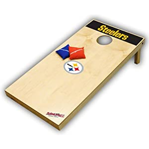 Pittsburgh Steelers Cornhole: XL Tailgate Toss by Wild Sports