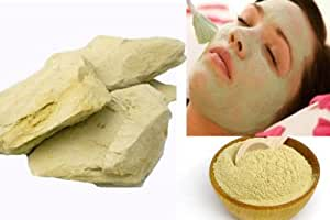 Discount4product 100 % Pure Herbal Multani Mitti (Fuller Earth stone) - 400gms STONE FORM