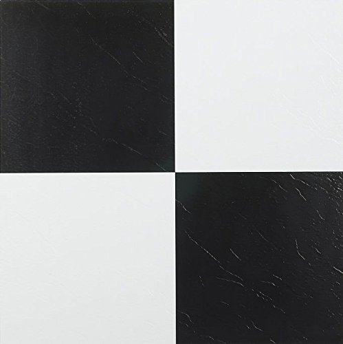 Furnishmyplace 45 pack 103 checkered vinyl floor self for Checkered vinyl flooring