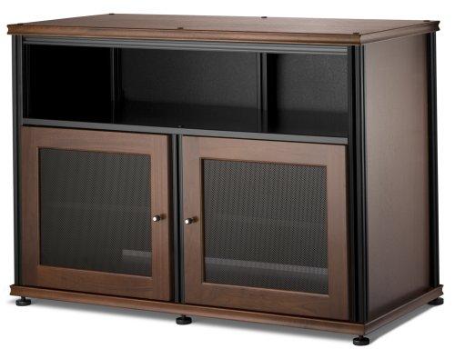 Salamander Synergy 329 A/V Cabinet W/ Two Doors & Center Channel Shelf (Walnut/Black)