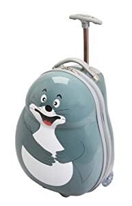 Kids Sea Lion Trolley Animal Designs Luggage Childrens Travel Suitcase Case 44cm