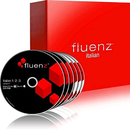 Fluenz Italian 1+2+3 with supplemental Audio CDs and Podcasts
