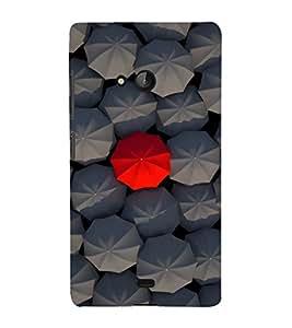 printtech Different Umbrella Back Case Cover for Nokia Lumia 950::Microsoft Lumia 950