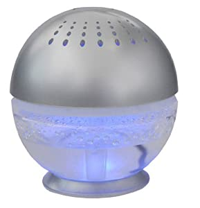 Unilution 75518 Little Squirt Air Cleaner and Revitalizer, Silver