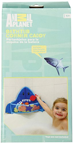 Animal Planet Corner Bath Toy Caddy, Shark