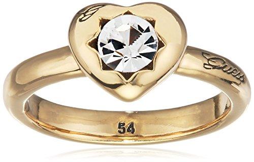 Guess Damen-Ring Metalllegierung Glas weiß Gr. 54 (17.2) - UBR51409-54 thumbnail
