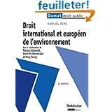Droit international et européen de l'environnement