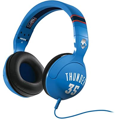 Skullcandy NBA Hesh 2.0 Thunder Kevin Durant with Mic Sports Collection Wired Headphone - Blue